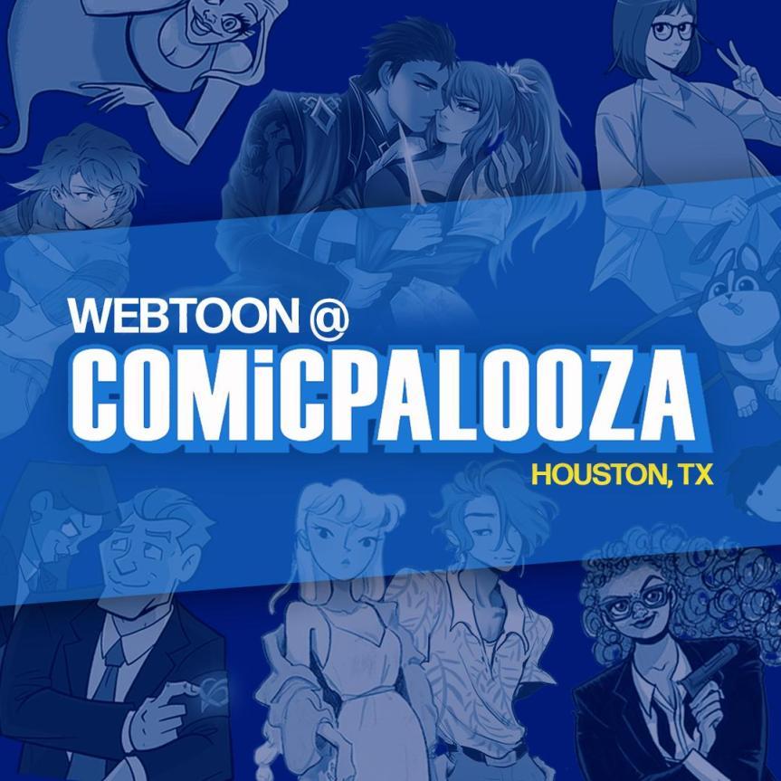 Line Webtoon at Texas ComicCon